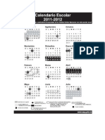 calendario 2011-2012