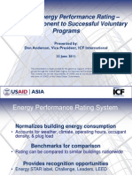 Don Anderson - Building Energy Performance Rating