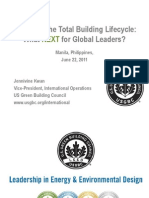 Jennivine Kwan - LEED and the Total Building Lifecycle