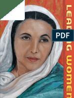Benazir Bhutto Leading Women