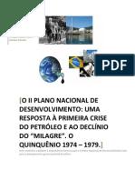 II PND-Seminário