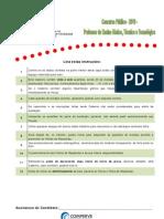 Prova Quimica Analitica IFRN