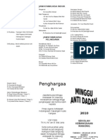 Brochure Antidadah
