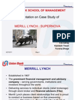 Merill Lynch Supernova Final Updated