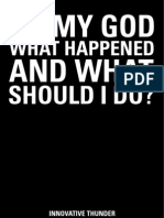 Oh My God What Happened (publicidad web)