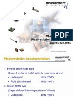 MEMS Silicon MEMS Piezoresistive Accelerometer
