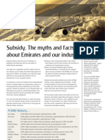 Emirates - Subsidy - Myths and Facts August