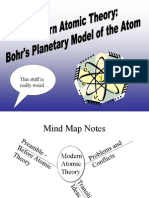 19763157 Modern Atomic Theory Bohrs Planetary Model of the Atom