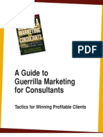 Marketing de Guerrilla Para Consultores