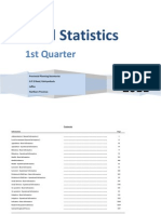 Vital Statistics 1st Quarter 2011 Final