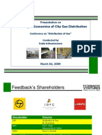 Financing & Economics of City Gas Distribution- Feedback Ventures