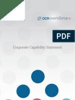 DCR Workforce - Brochure