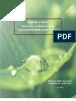 Mex Educacion Ambiental Para La Sustentabilidad