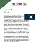 Letter to Governor Walker 6-20-11