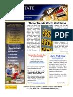 News Letter Real Estate Update Sept. 2009