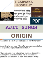 The Carvaka Philosophy