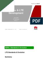 HSPA+ LTE Developments