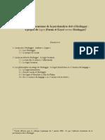Ce que l'inflexion lacanienne de la psychanalyse doit à Heidegger