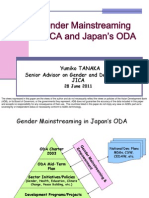 Gender Mainstreaming in JICA and Japan's ODA