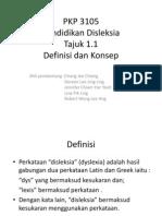 1.1 Definisi Dan Konsep Disleksia
