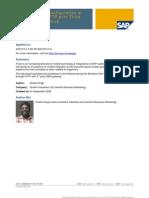Standard SAP Configuration of SMS Through HTTP