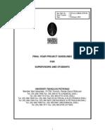 FYP Guidelines 2011