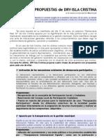 Propuestas Locales DRY Isla Cristina