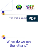 The Final S Sound