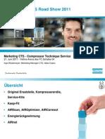 Atlas Copco Nutzen Produkte Service Instandhaltung 2011