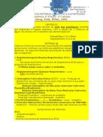 Peptídeos Vaso Ativos (PVA) e Peptidases