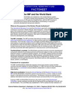 The IMF and WB