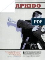 Hapkido Kick Defence