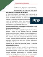 Resumen de Noticias Matutino 28-06-2011