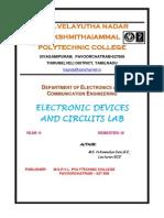 EDC LAB Manual