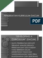 Tajuk 4 - Model Kurikulum Dacum