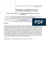 Calibração de Vidrarias Volumétricas com incertezas calculadas