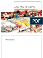 Wholesaling and Retailing