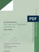The Case for a Progressive Spending Tax