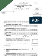 Post Basic Form