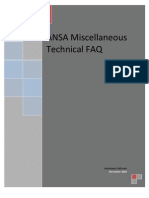 ANSA Miscellaneous Technical FAQ