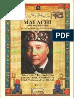 Malachi I Will Send You Elijah