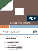 To Correct the Common English Errors