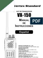 Manual Yaesu 150