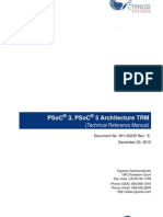 PSoC 3, PSoC 5 Architecture TRM
