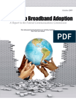 Barriers to Broadband Adoption Report