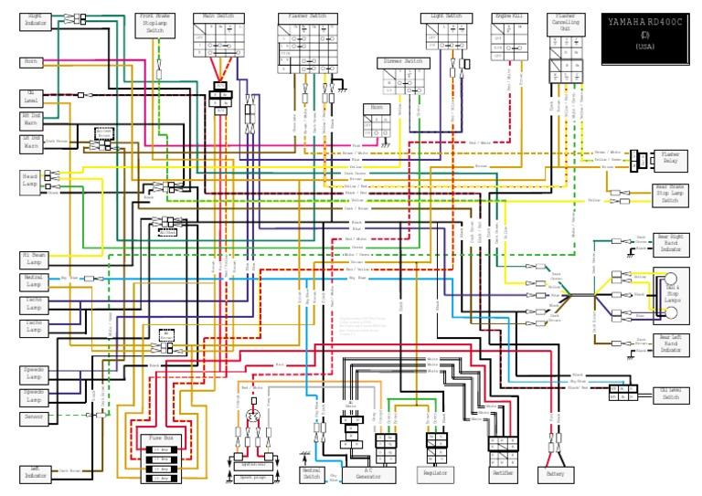 Rd400  Us  Wiring Diagram