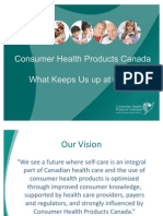 Key issues that keep Consumer Health Product leaders awake
