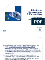 Lifecycle Management & Forecasting