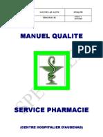 Manuel Qualite Pharma