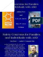 LEAN on Us Webinar with Autism NOW May 3, 2011